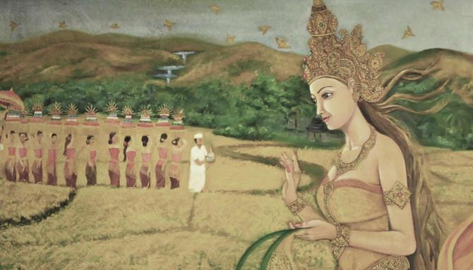 Rice Goddess, Shri Devi - Dewi Sri