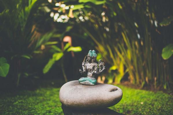 Darshana Bungalow Garden Statue