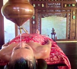Shirodara Ayurvedic treatment