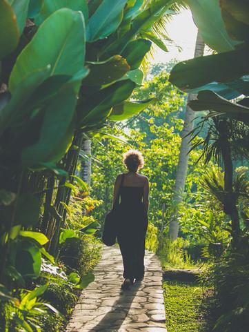 The Shala Bali entrance