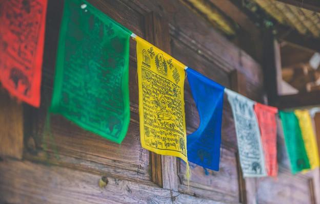 Darshana Bungalow Prayer Flags