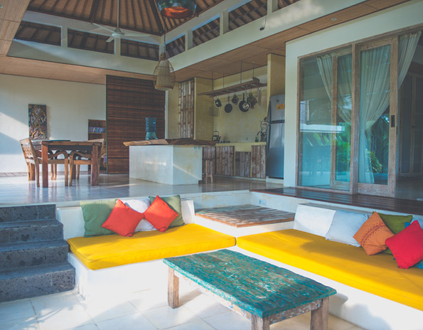 Villa Ganapati Living room