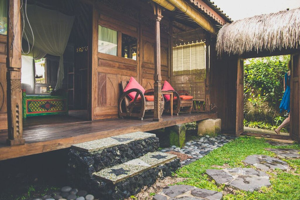 Darshana Bungalow Porch