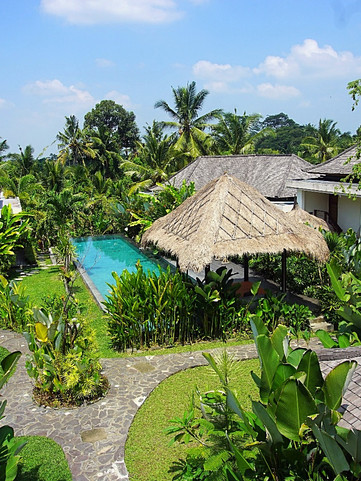 The Shala Bali Aerial View