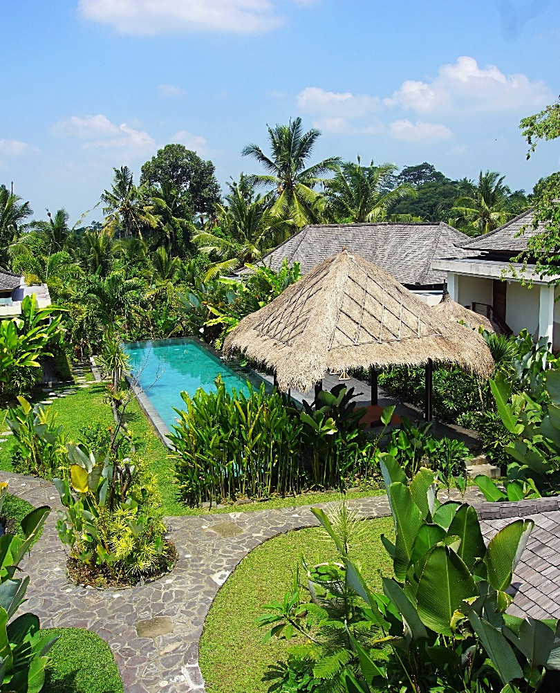 The Shala Bali Aerial View