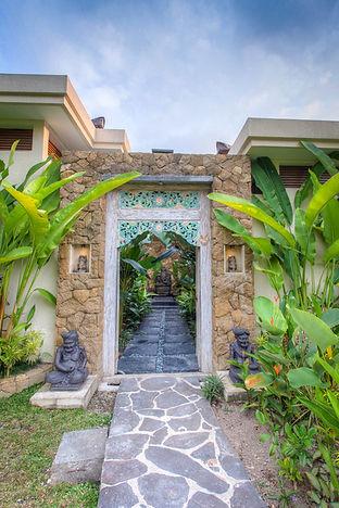 Rahasia Villa's Entrance Gate
