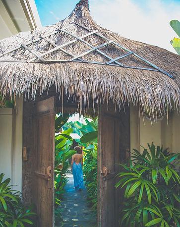 Entrance Gate to Ganapati Villa
