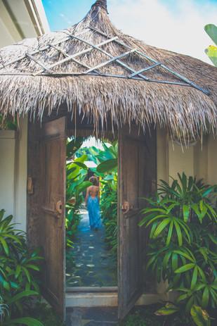 Villa Ganapati Private Entrance