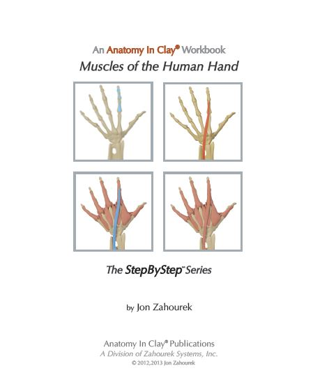 Hand workbook front page