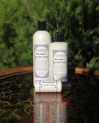 Shea butter & Lavender Lotion