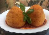 Arancini Siciliani (Rice balls with bolognese sauce)