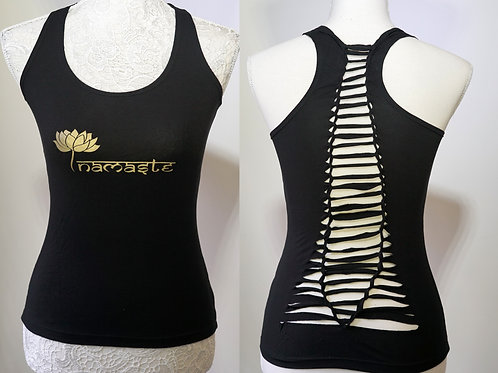 Namaste Yoga Top, Full Criss-Cross Back