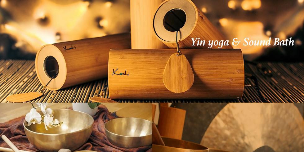 Autumnal Rest & Restore Yin Yoga & Sound Bath