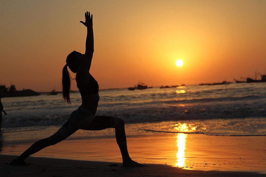 Warrior 1 Yoga