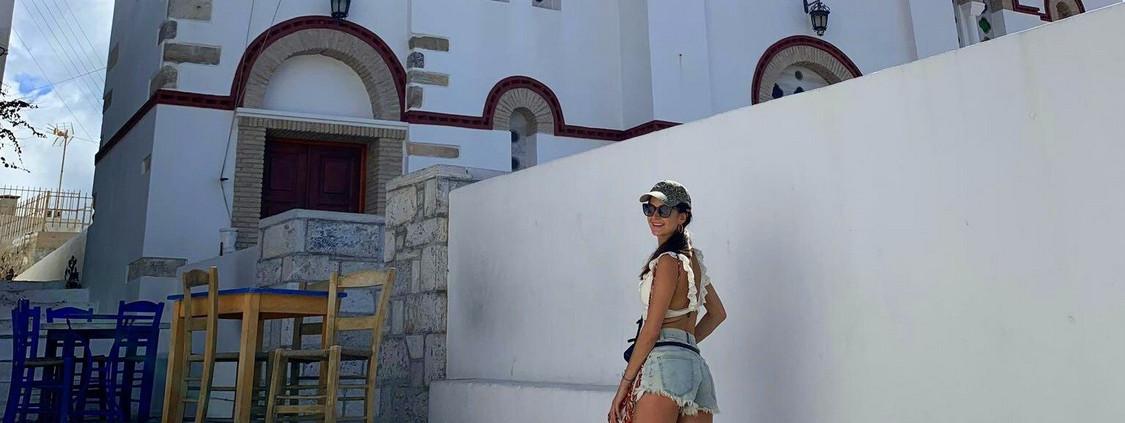 Hiking in Amorgos, Greece