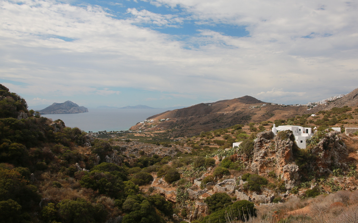Hiking in Amorgos, Greece