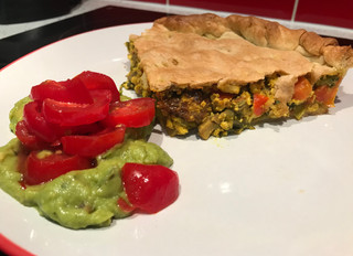 Scrambled Tofu Pie