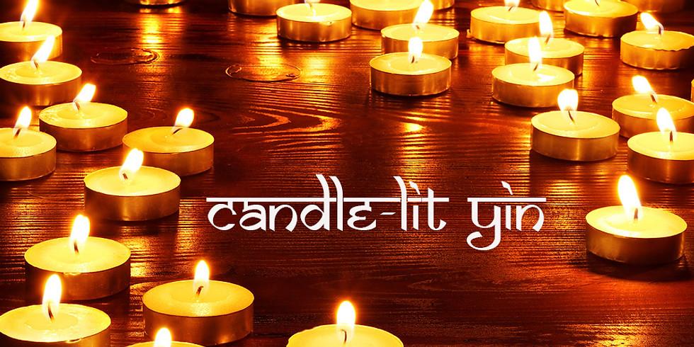 Candlelit Yin Yoga for Kidney & Urinary Bladder 8pm