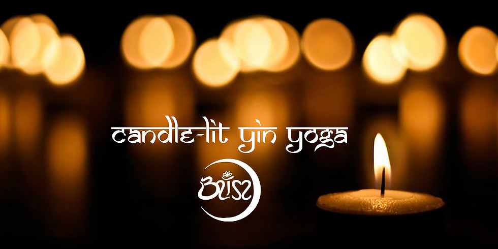 Candle-lit Yin Yoga for Upper Body