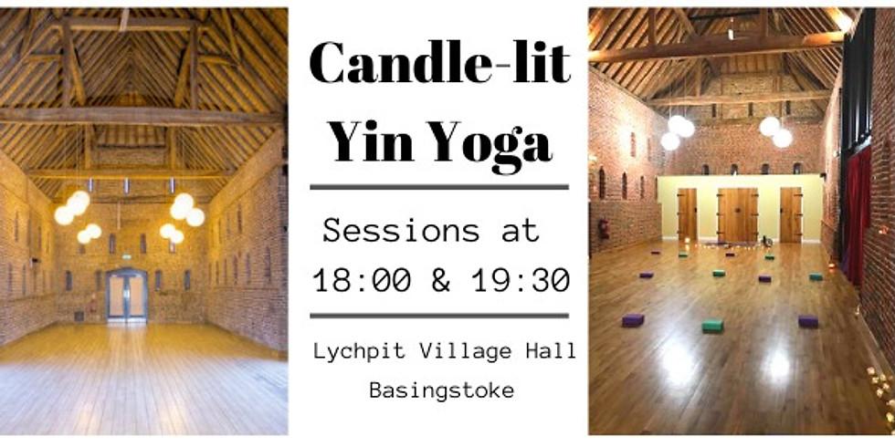 Candle-lit Yin 18:00~Pranayama Yintegration