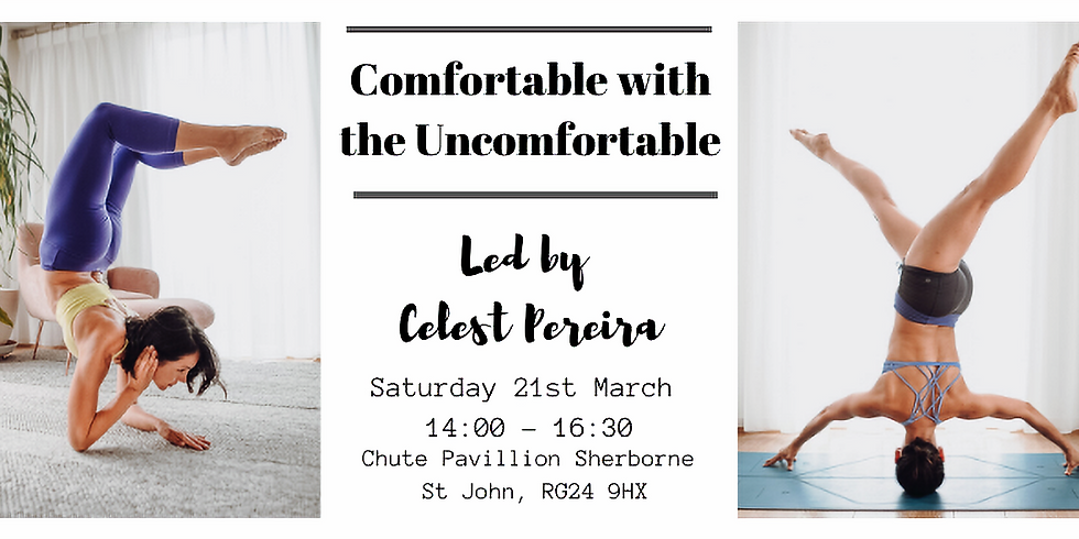 Comfortable with the uncomfortable with Celest Pereira
