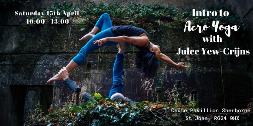 Intro to Acro Yoga with Julee Yew-Crijns
