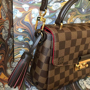 Bolsa Croisette Louis Vuitton em canvas