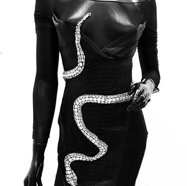 Snake dress. Tom Ford para Gucci, 2004.