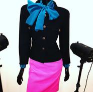 Coco Chanel e Yves Saint Laurent dois do