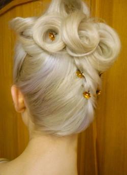 Mobile Wedding Hair service