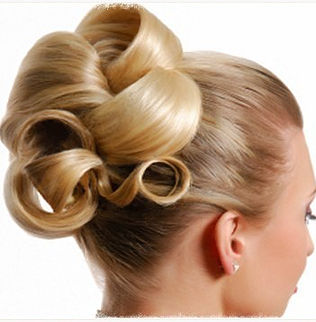 Classic Bridal Hair, Wedding, Euston