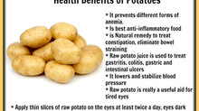 Health Benefits of Potatoes juice