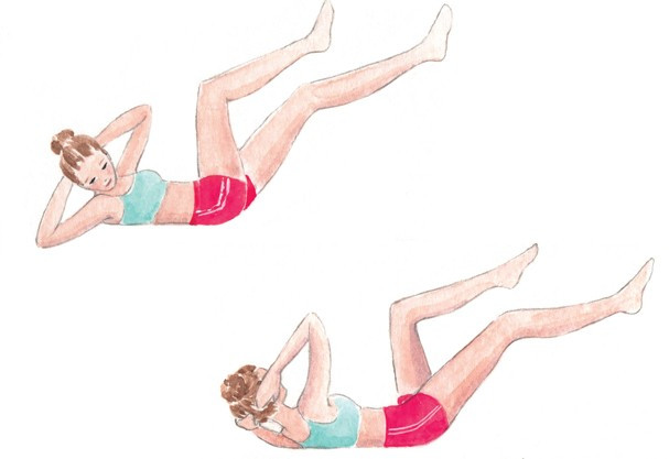 Obliques exercise & Lower abs @ Damasceno.com