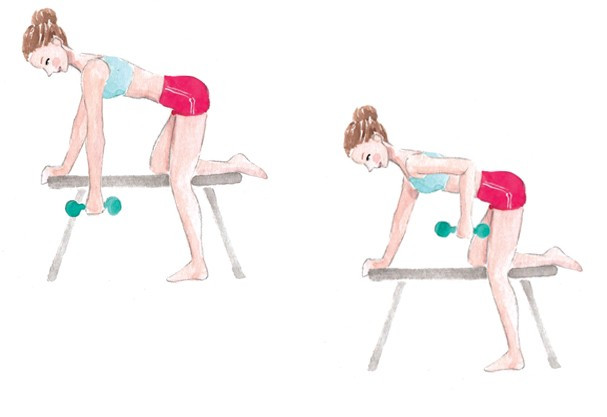 Exercise for back fitness @Damasceno