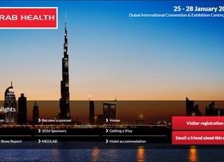Use Good Stand Behavior At Arab Health 2016.