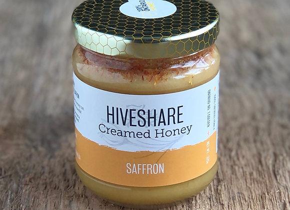 Saffron Creamed Honey