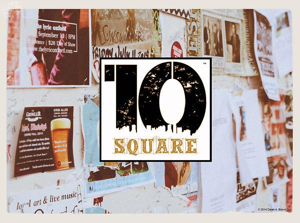 10 Square Logo