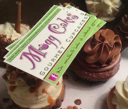 Mugg Cake business cards
