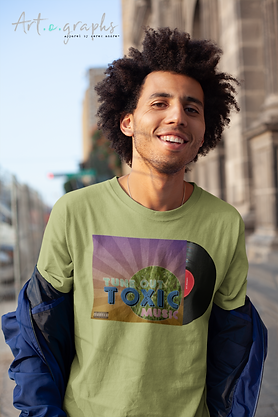 tee-mockup-of-a-happy-man-with-an-afro-o