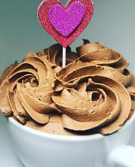 Cupcake in mugg