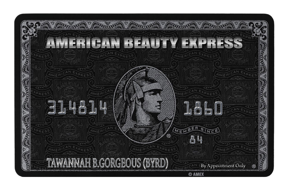 AMEX Business Card Front