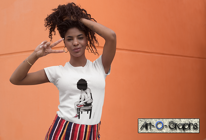 t-shirt-mockup-of-a-kinky-haired-woman-m