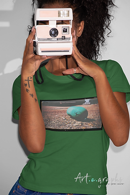 t-shirt-mockup-featuring-a-woman-taking-