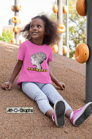mockup-of-a-little-girl-wearing-a-t-shir