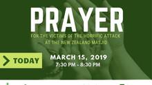 PRESS RELEASE | NZ Mosque Terrorist Attack