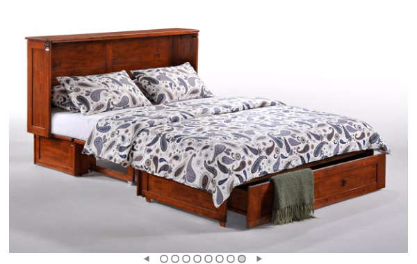 Heather Cabinet Bed