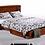 Thumbnail: Clover Queen Cabinet Bed - Cherry