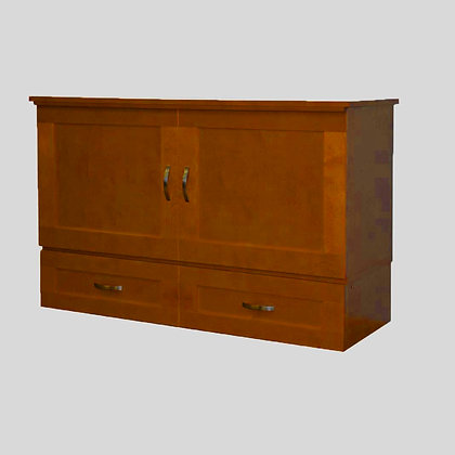 Country Deluxe Cabinet Bed