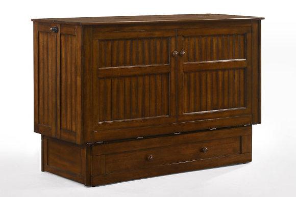 Daisy Queen Cabinet Bed in Black Walnut