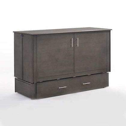 Sagebrush Queen Cabinet Bed with mattress
